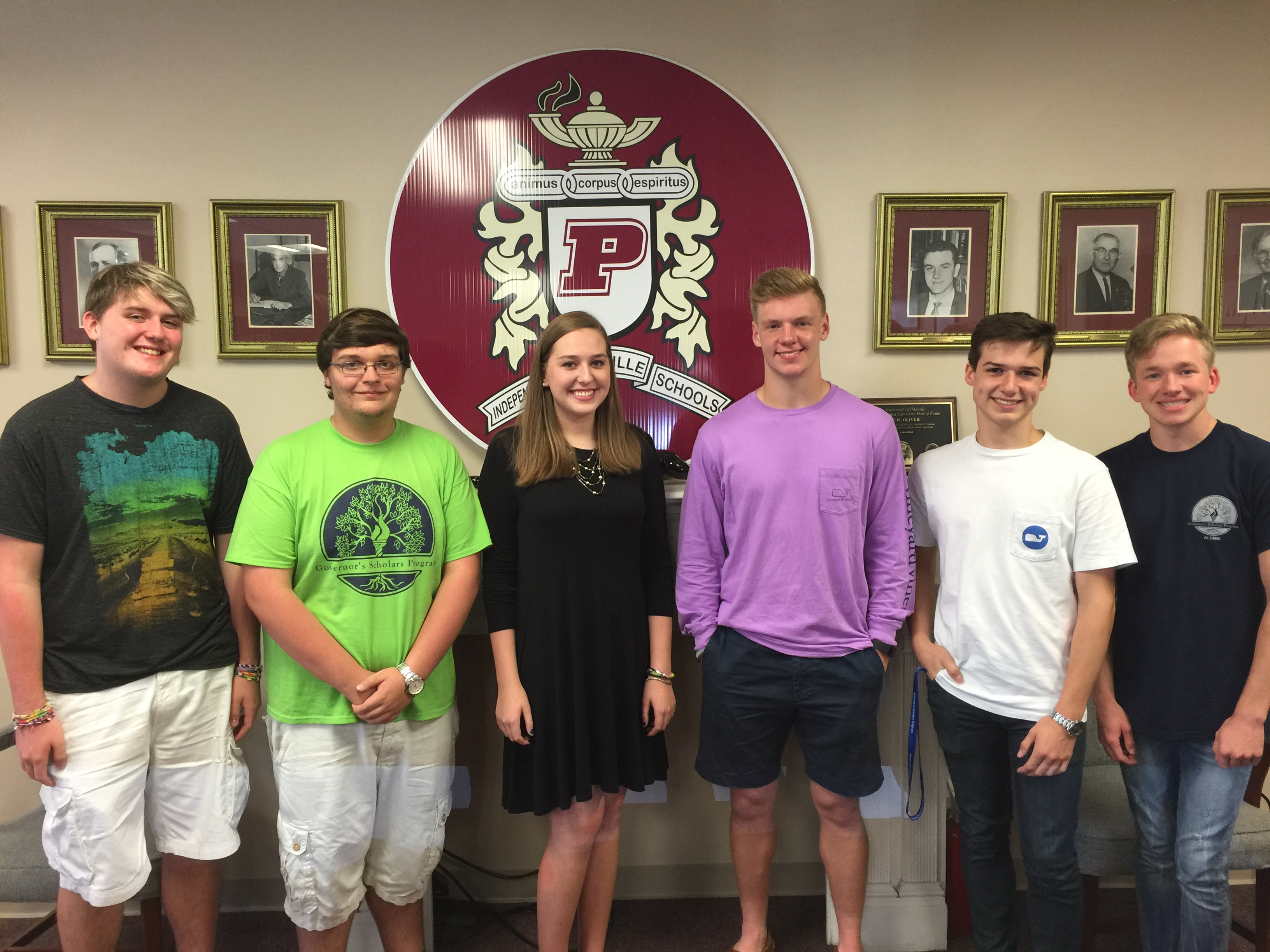 Pikeville High School 2016 Governor's Scholars